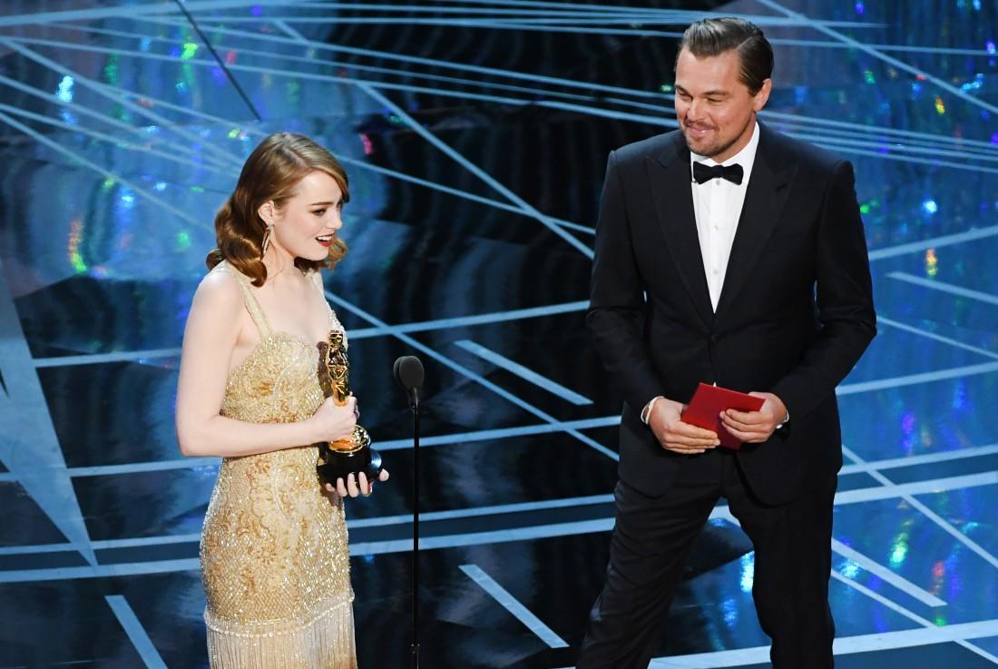 Оскар 2017: Эмма Стоун, Леонардо Ди Каприо