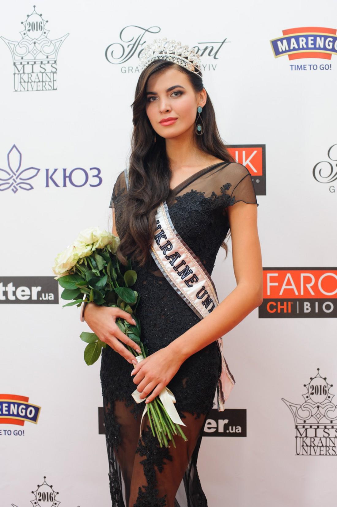 Победительница Мисс Украина Вселенная 2016 Алена Сподынюк