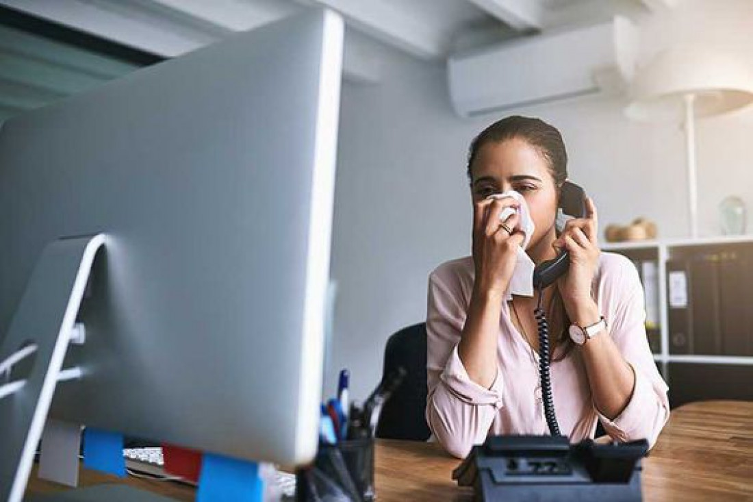 Грипп в офисе: 10 правил безопасности от МОЗ