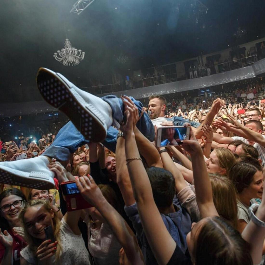 Концерт певца в Минске