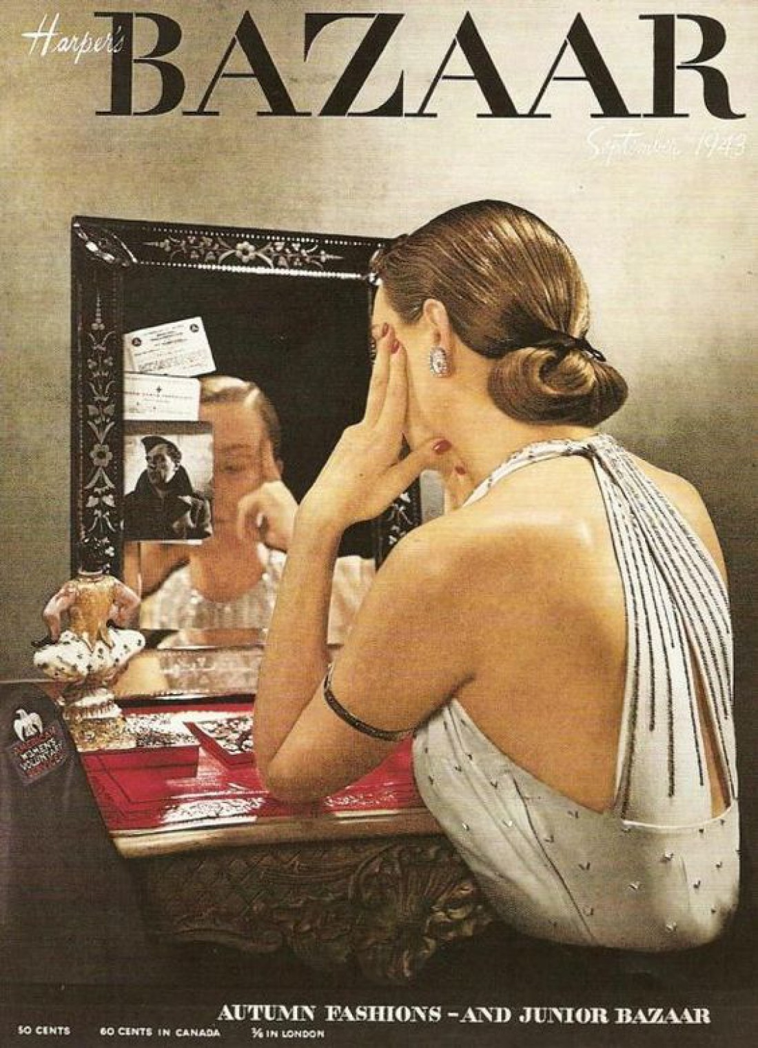 Обложка Harper's Bazaar, 1943 год