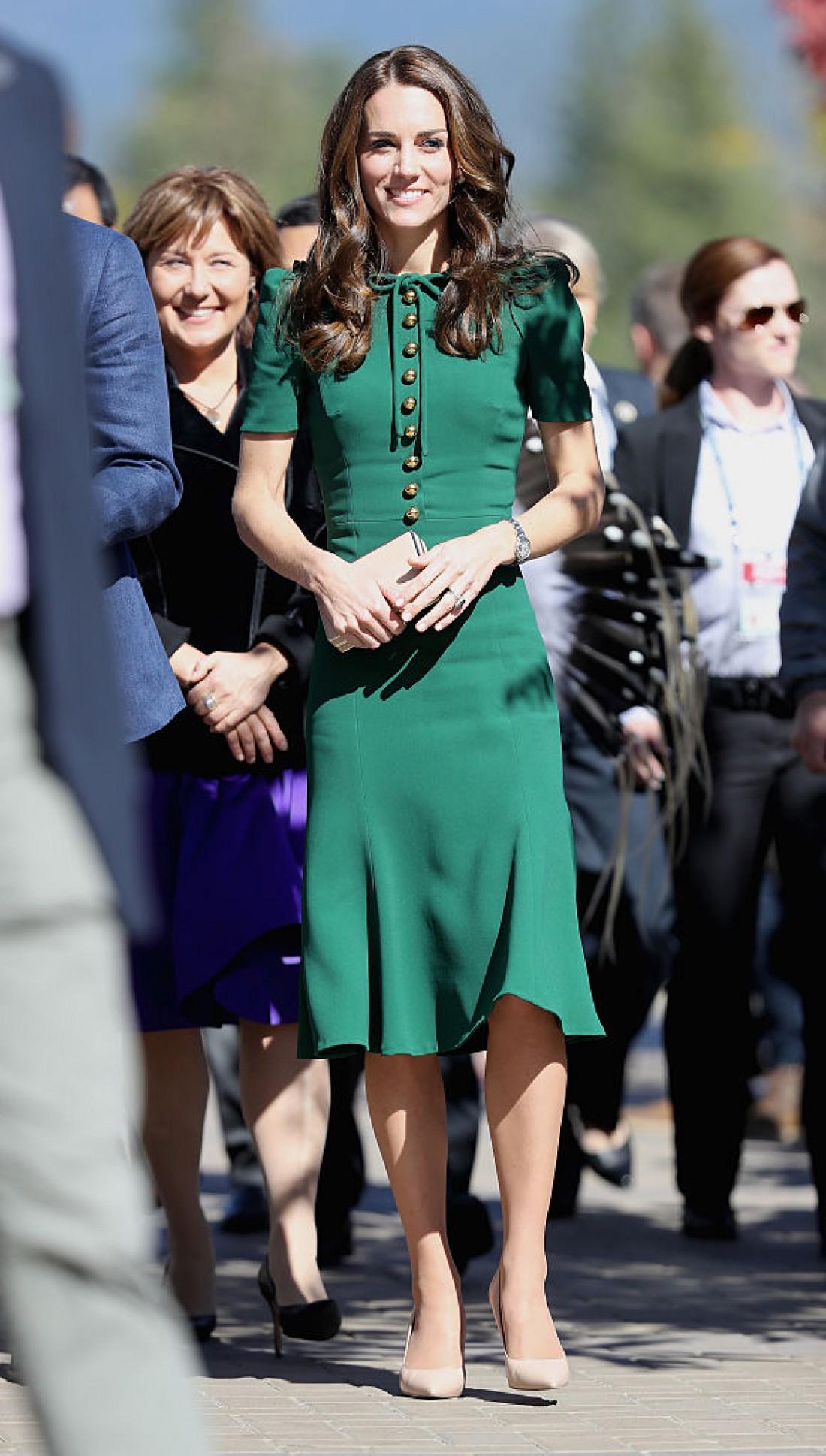 Кейт Миддлтон в платье от Dolce&Gabbana