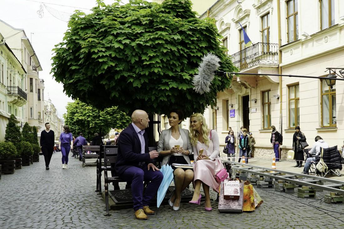 Сьемки фильма Город влюбленных
