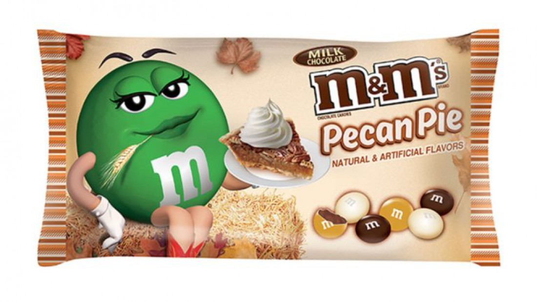 M&M's Pecan Pie