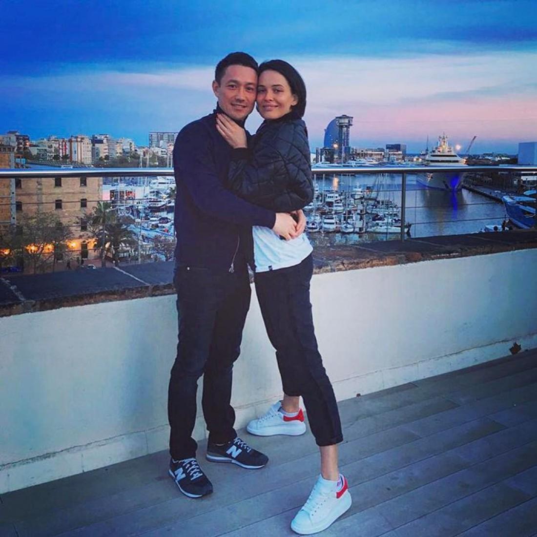 Даша Астафьева с любимым Артемом