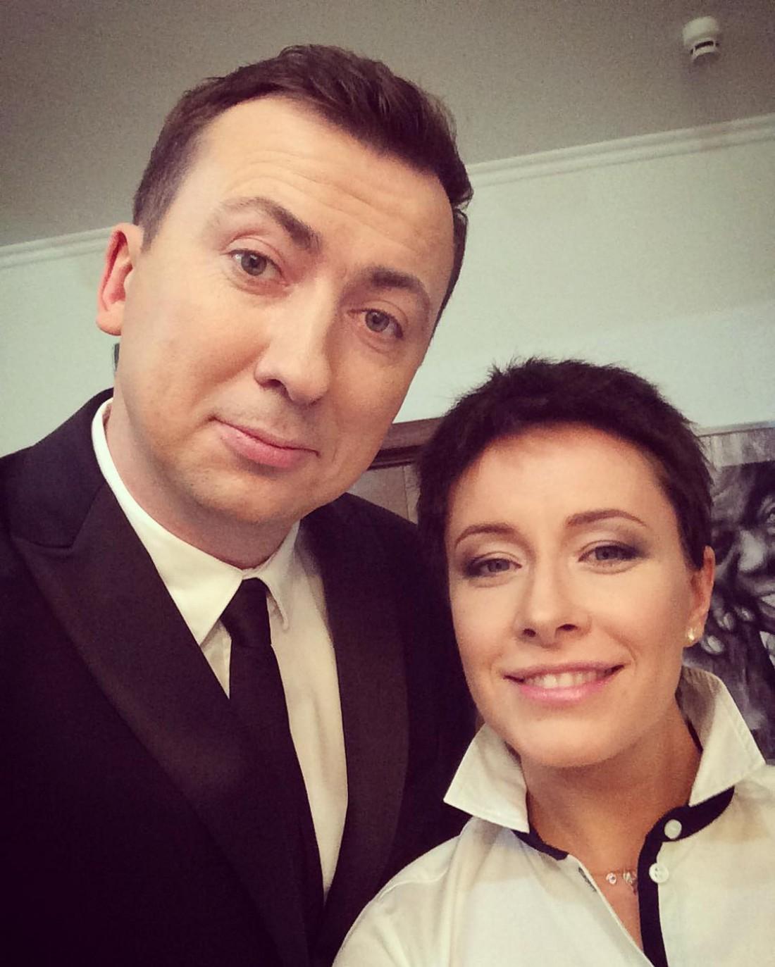 Валерий Жидков и Елена Кравец