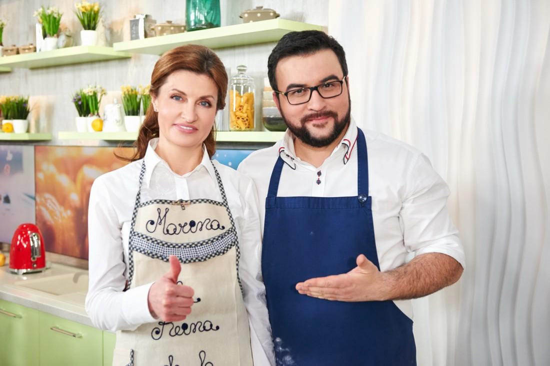 Марина Порошенко и Руслан Сеничкин