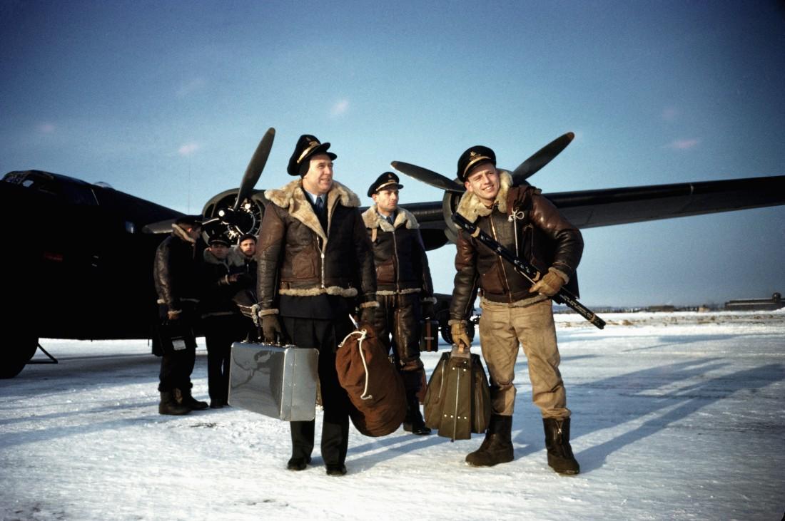 Куртки-бомберы американских летчиков, 1942 год