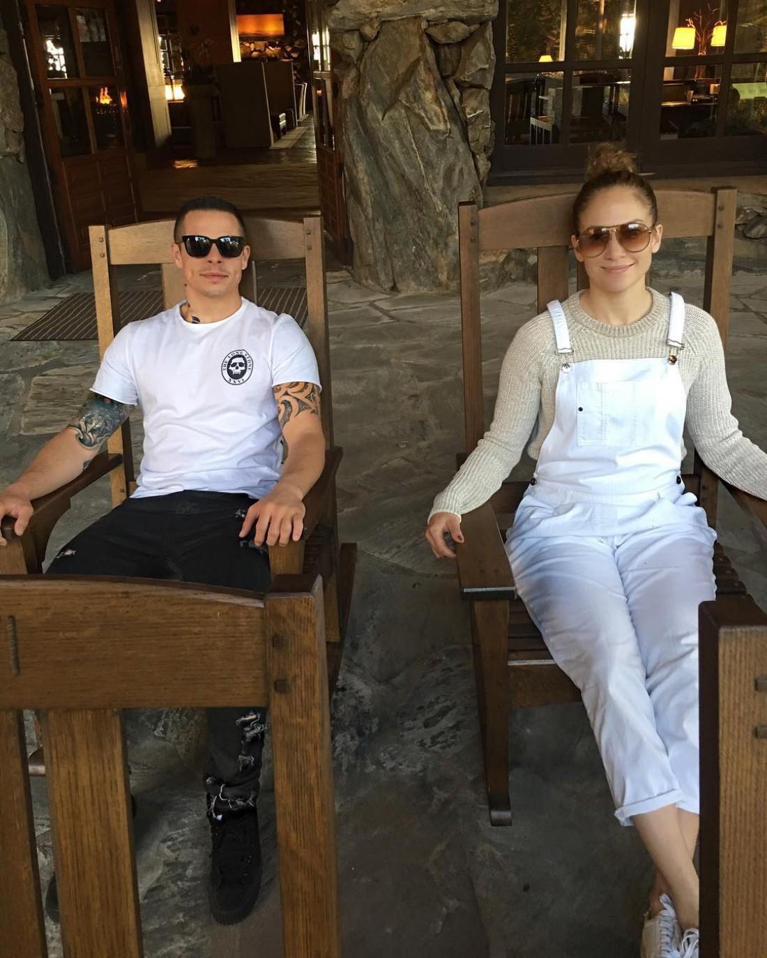 Каспер Смарт и Дженнифер Лопес