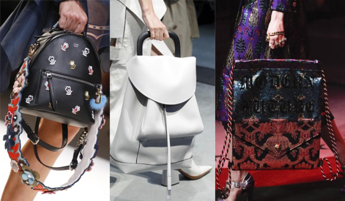 Долой сумки: модные рюкзаки лета 2017
