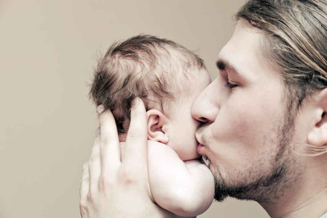 Когда папа и ребенок – одно целое