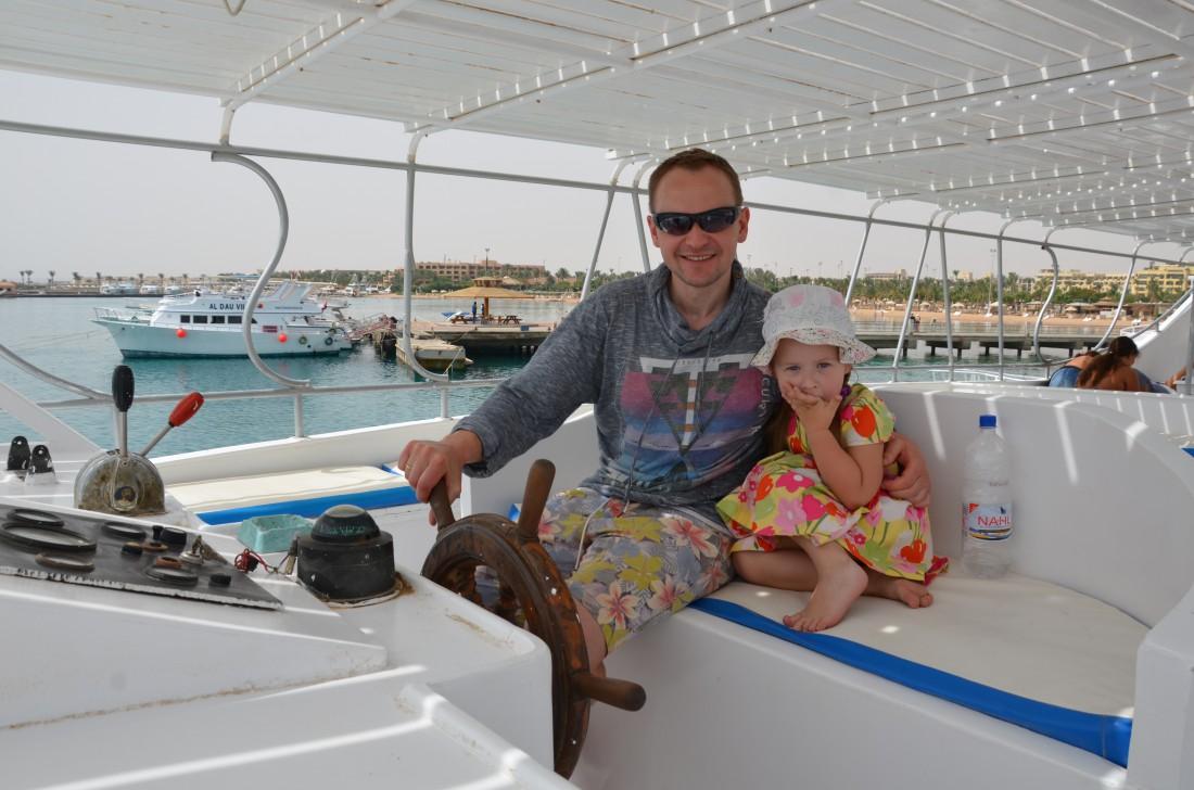 Павел Табаков с дочкой
