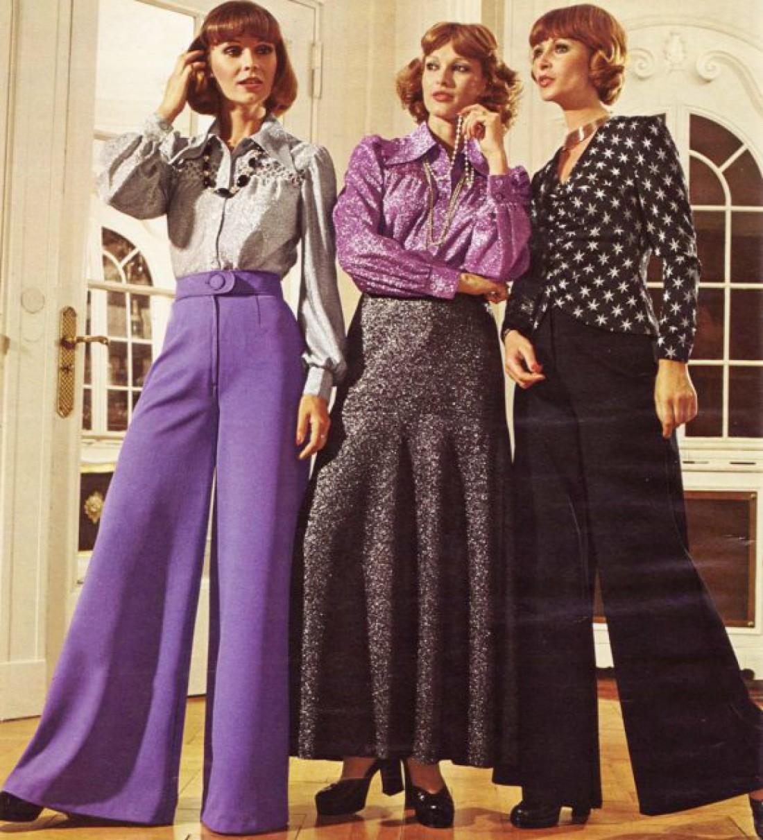 Деловая мода 70-х