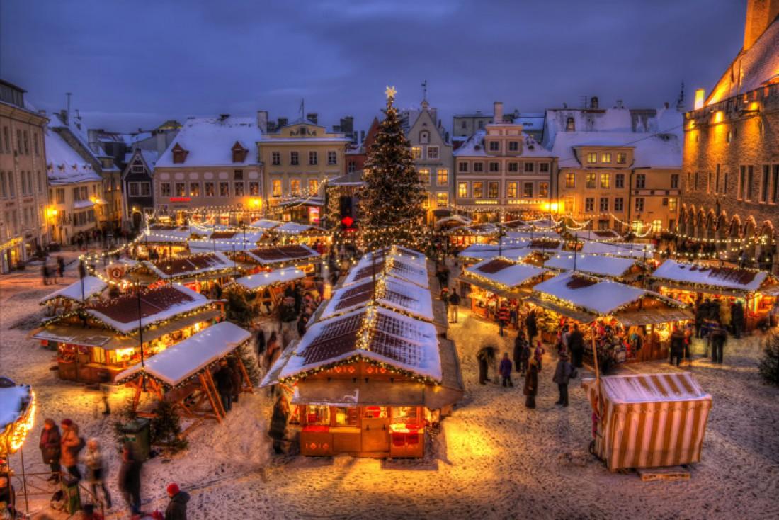 Европейская рождественская ярмарка