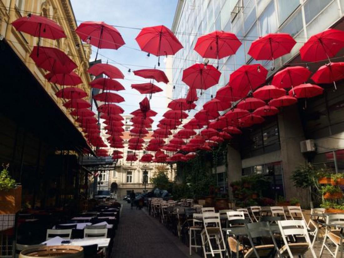 Улица князя Михаила - главная улица Белграда