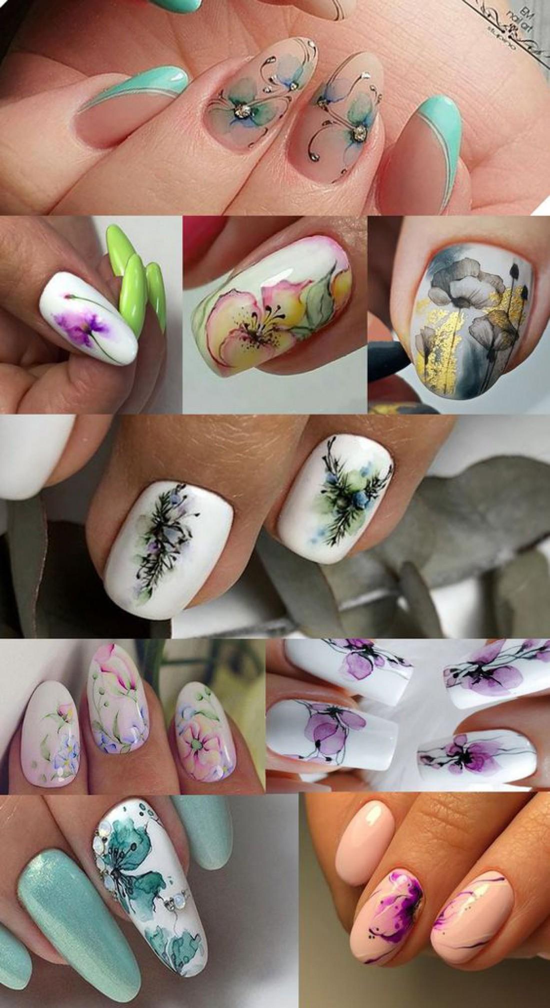 Цветочный дизайн ногтей 2019: ТОП-4 лучших идеи