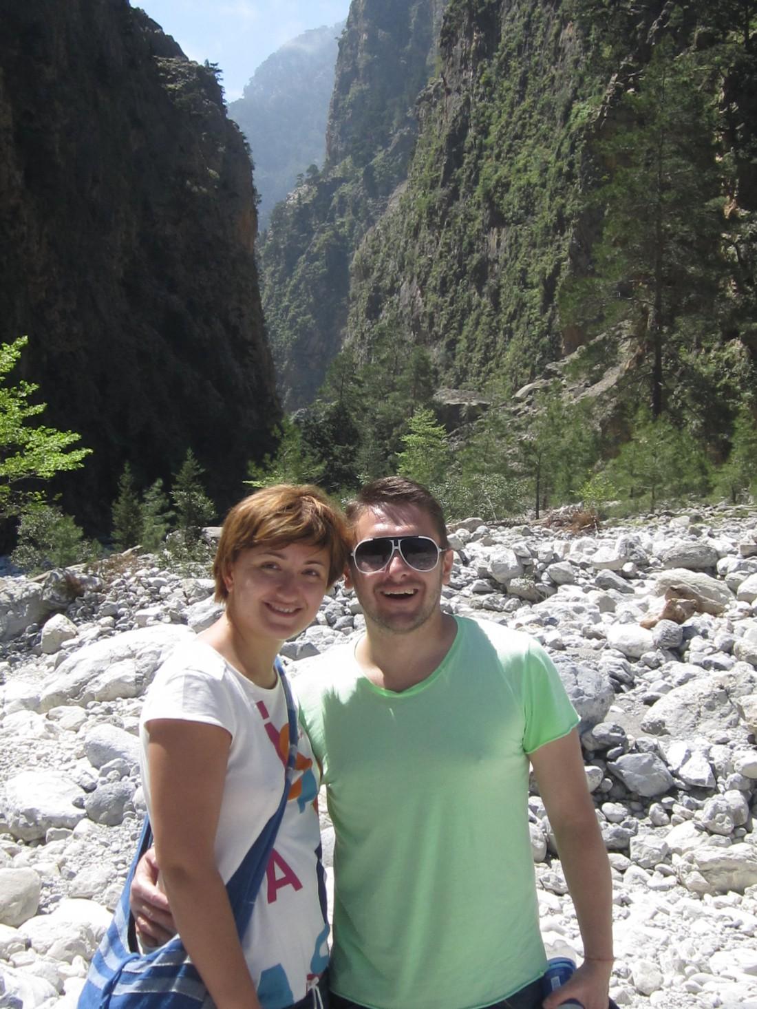 Алексей Суханов с женой
