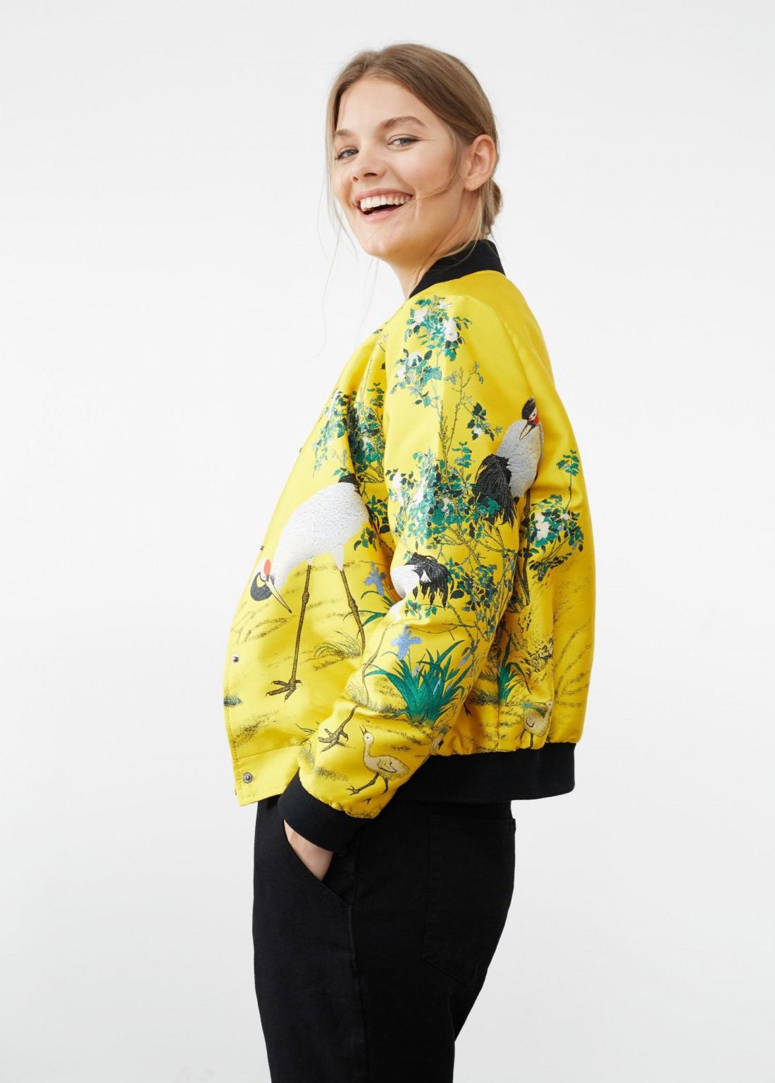 В моде желтый цвет