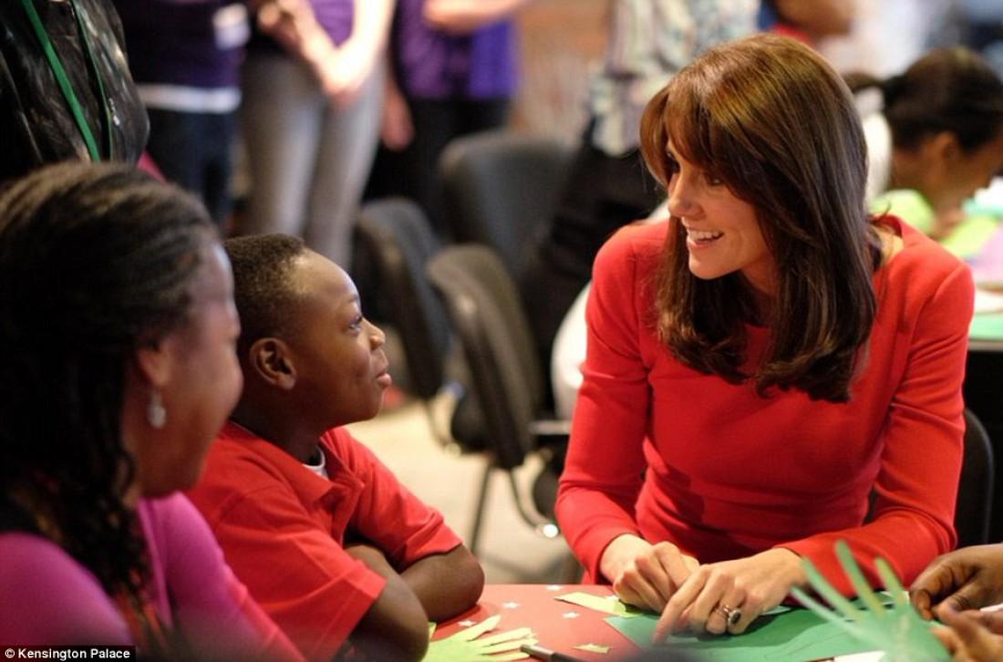 Кейт Миддлтон посетила лондонский детский центр