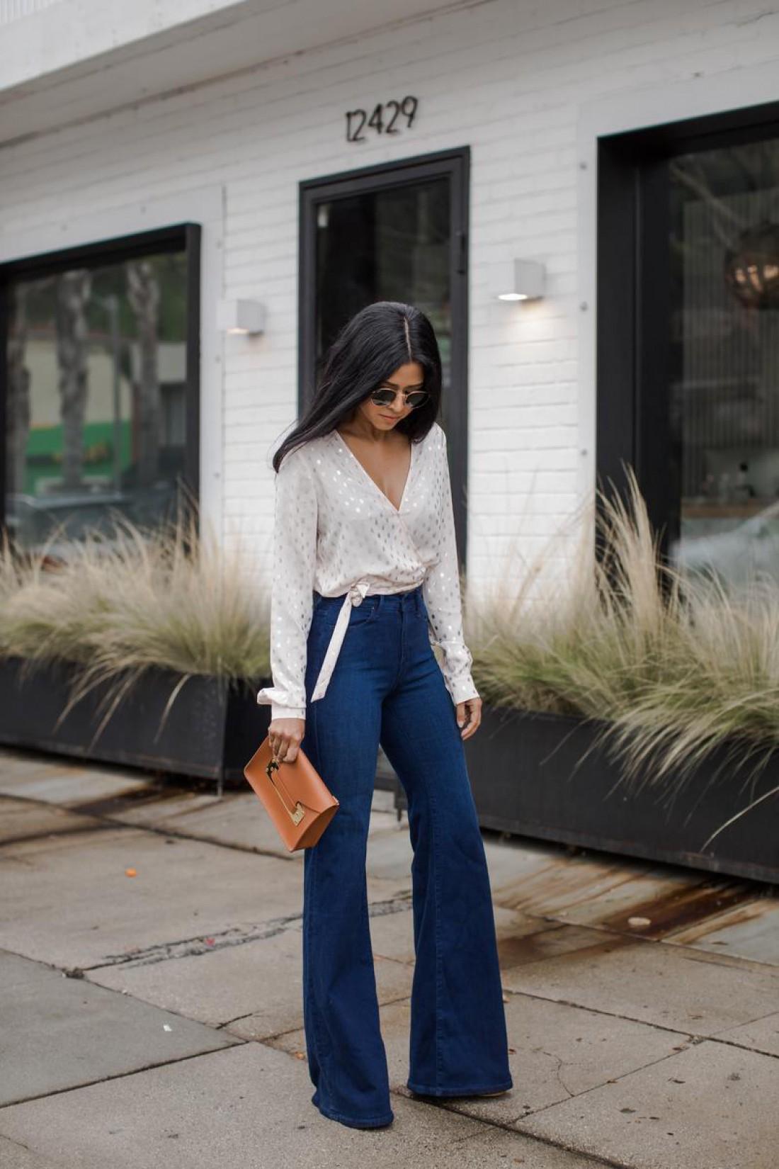 Как одеваться девушкам с маленьким ростом: образ №2