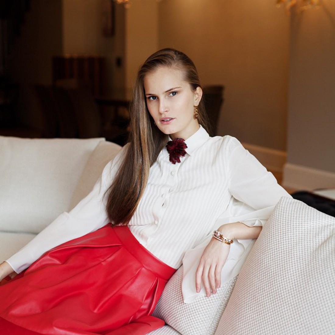 Украинская модель Алла Костромичева