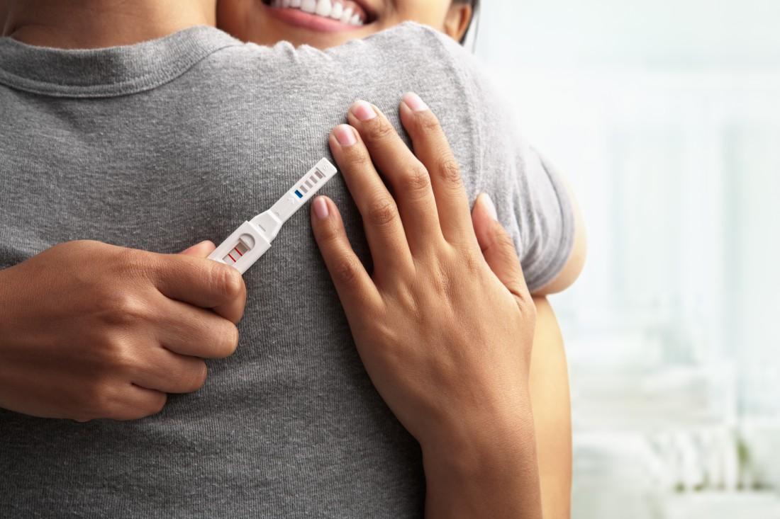 Реакция мужа на беременность супруги