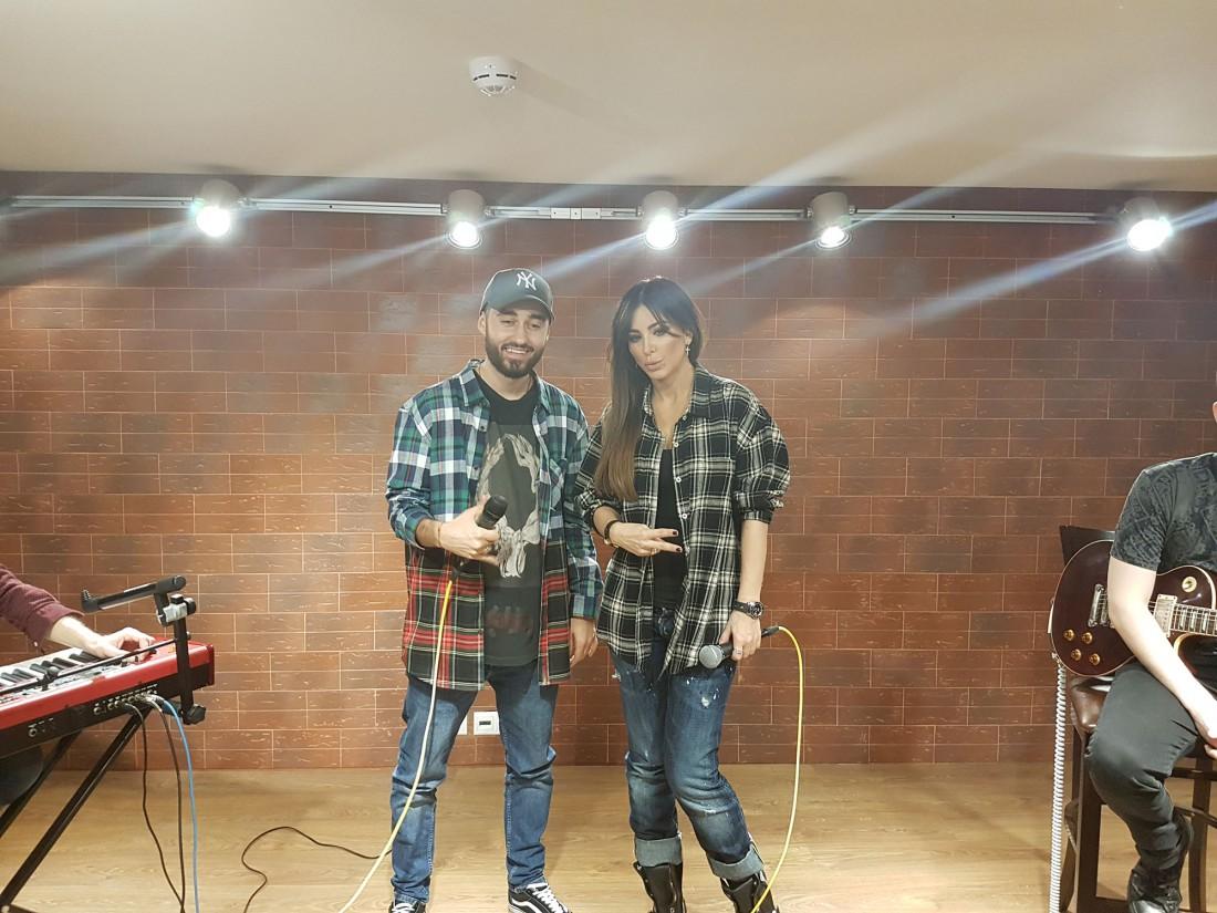 Рэпер Мот и Ани Лорак