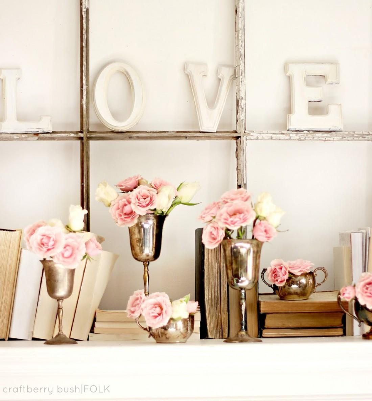 Декор на День святого Валентина: идеи для квартиры