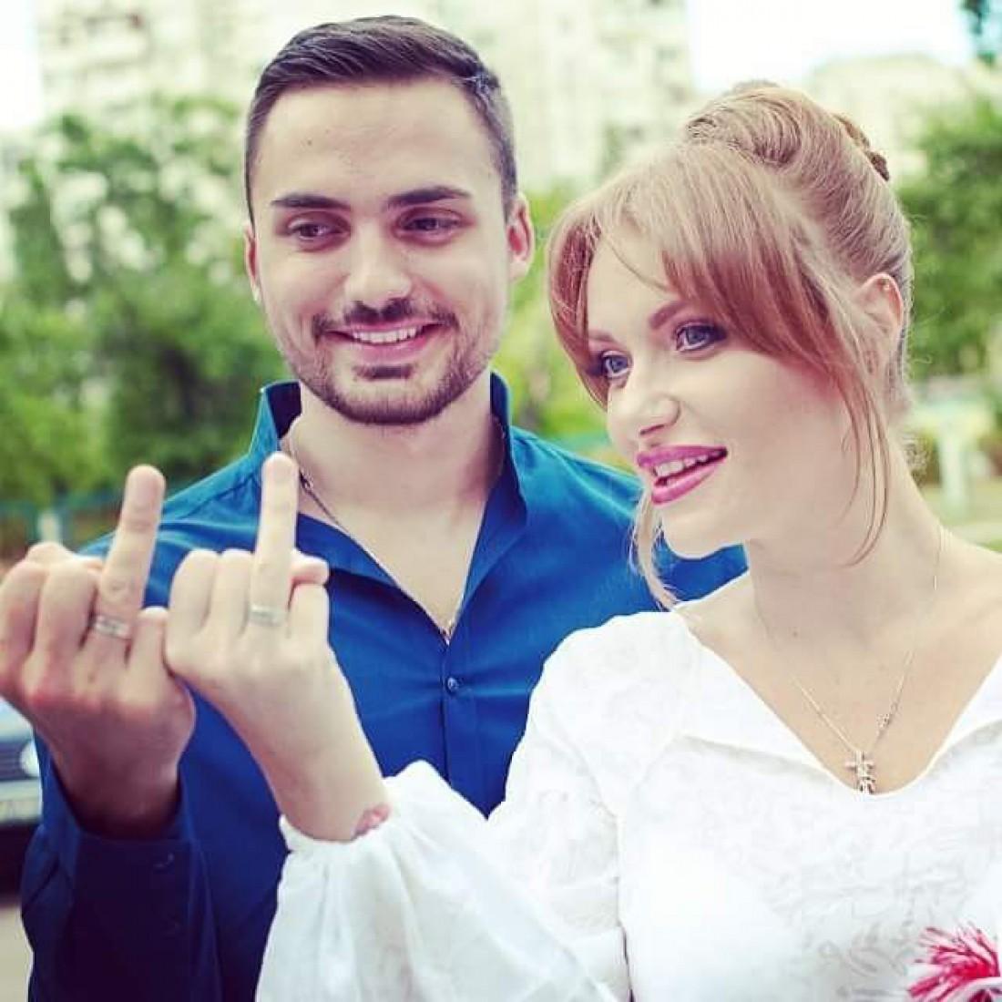 Слава и ее муж Эдгар