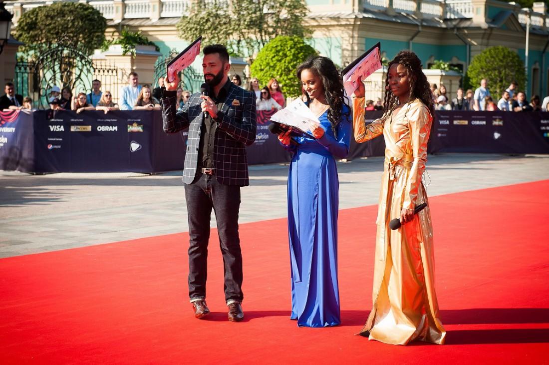 Евровидение 2017: ведущие красной дорожки