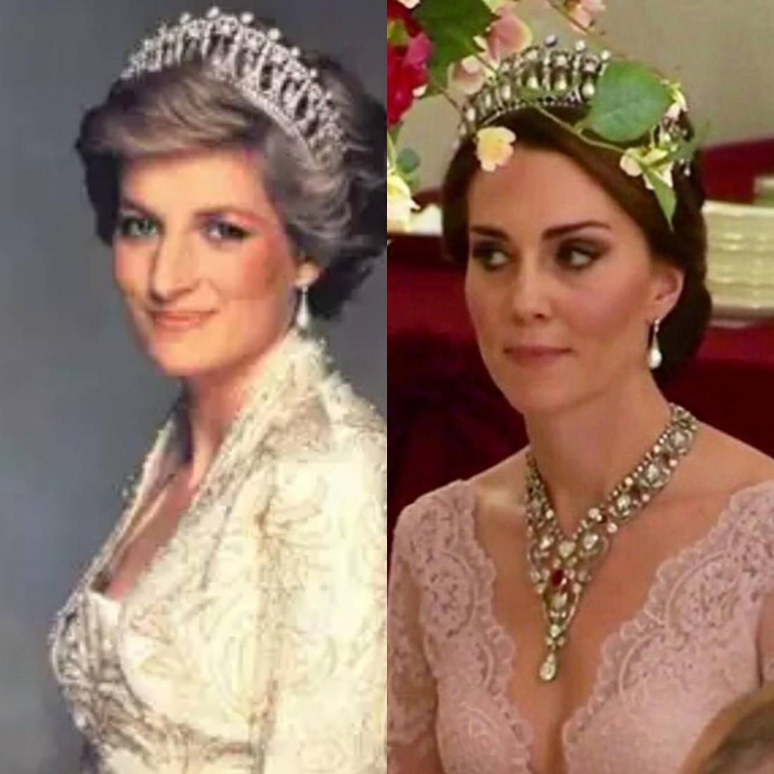 Принцесса Диана, Кейт Миддлтон