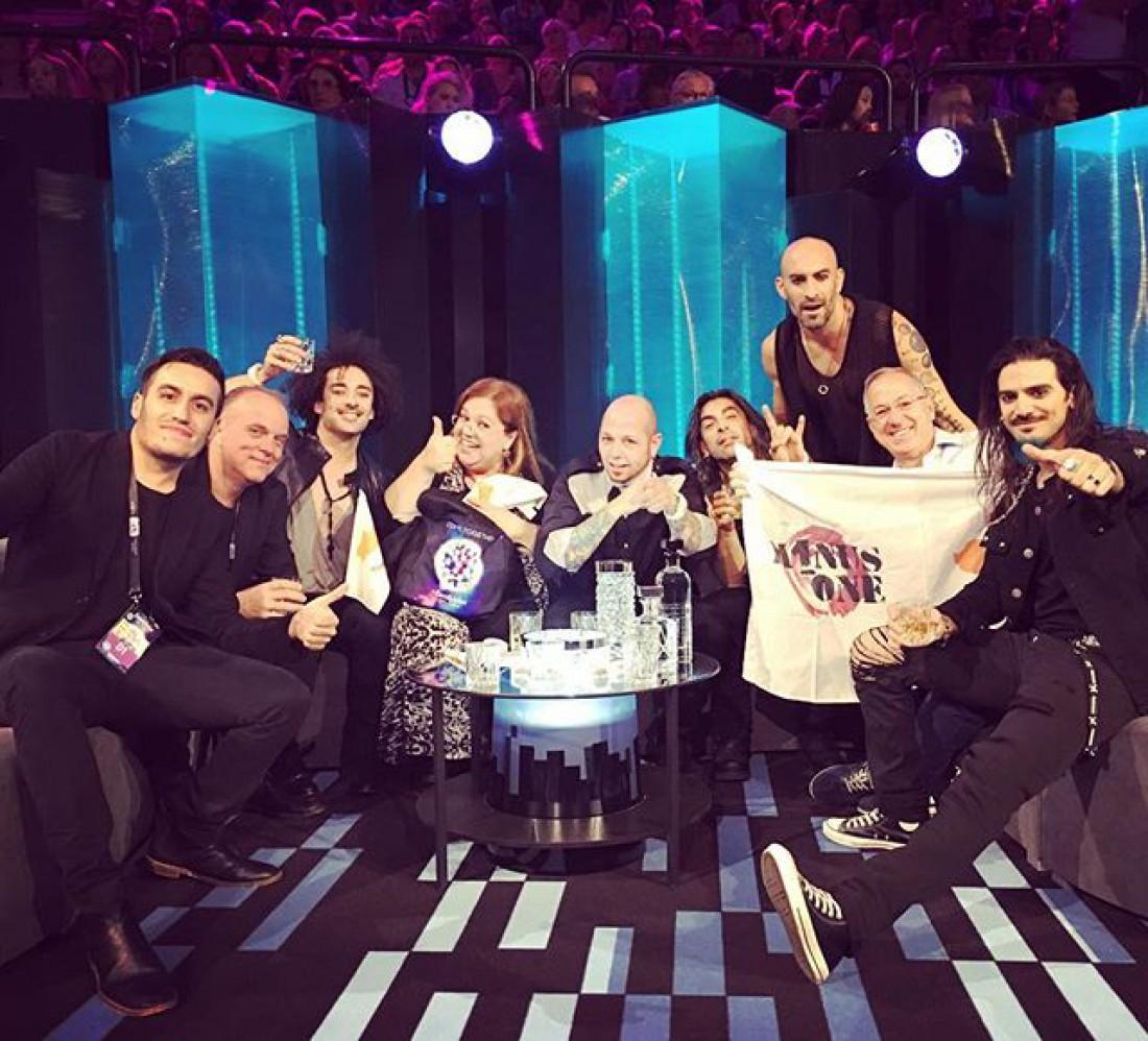 Евровидение 2016: участница от Кипра группа Minus One