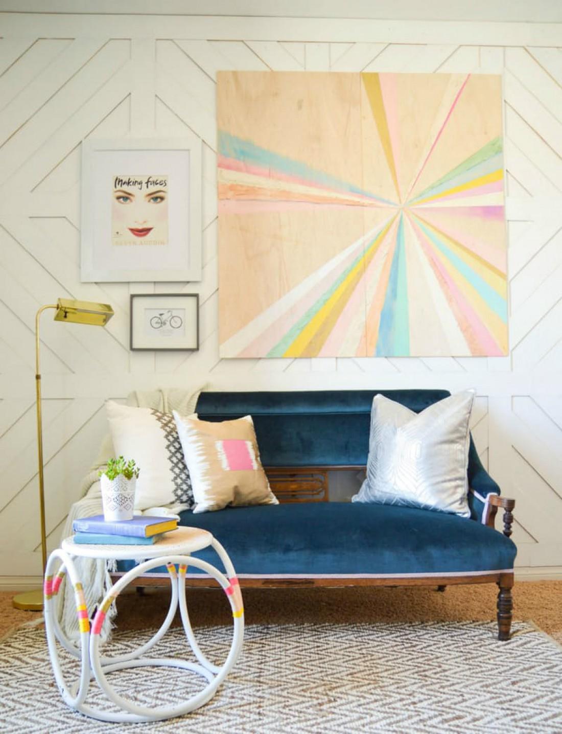 Как украсить белую комнату