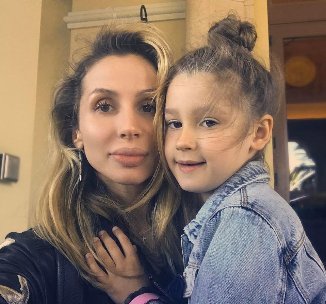 LOBODA с дочкой
