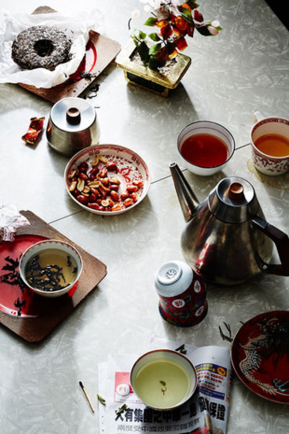 Чайные традиции: Китай