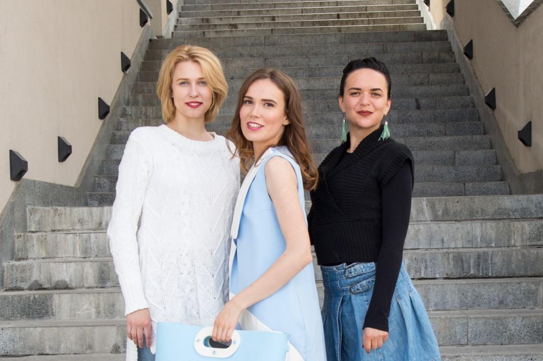 Мария Ивасенко, Анна Суворова и Татьяна Харчева