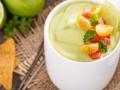 Холодный суп из авокадо и кефира