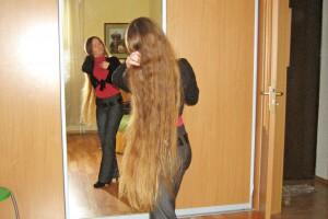 Раньше у Татьяны были волосы длиной 110 см