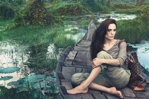 Анджелина Джоли стала лицом люксовой марки Louis Vuitton