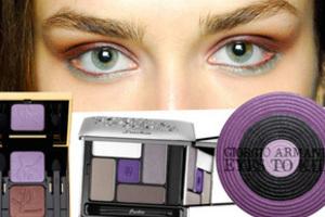 Модный lt b gt макияж lt b gt осени 2010 фиолетовый бум фото красота и стиль lt b gt lt b gt