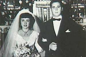 Фидель Кастро и Мирта Диас Баларт