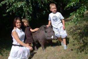 Если хорошая погода, Лилия с детьми каждые выходные стараются проводить на природе