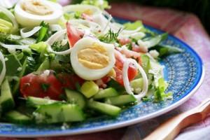 салат со щавелем рецепты