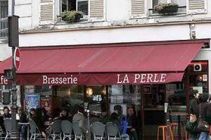 Ресоран  La Perle в Париже, где задержали Джона Гальяно