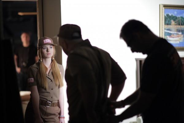 Кадр из фильма с участием Лена Катина