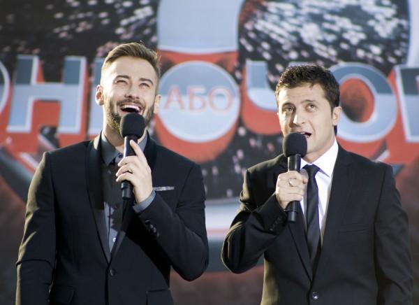 Дмитрий Шепелев и Владимир Зеленский будут вести шоу  Красное или черное?