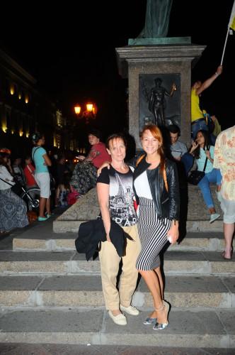 Светлана Тарабарова с мамой