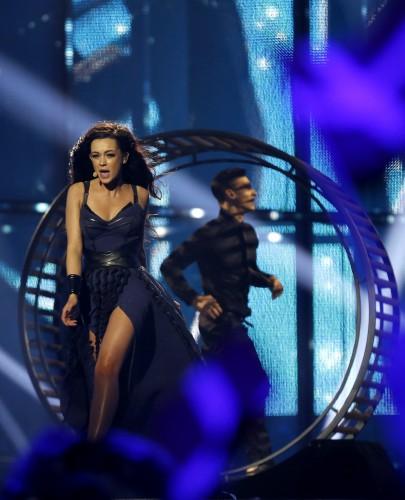 Яремчук выступила на Евровидении 2014