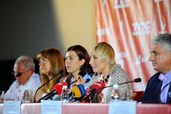 Одесский кинофестиваль 2014: Общение организаторов с прессой