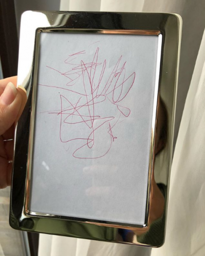 Рисунок сына Кати Осадчей фото